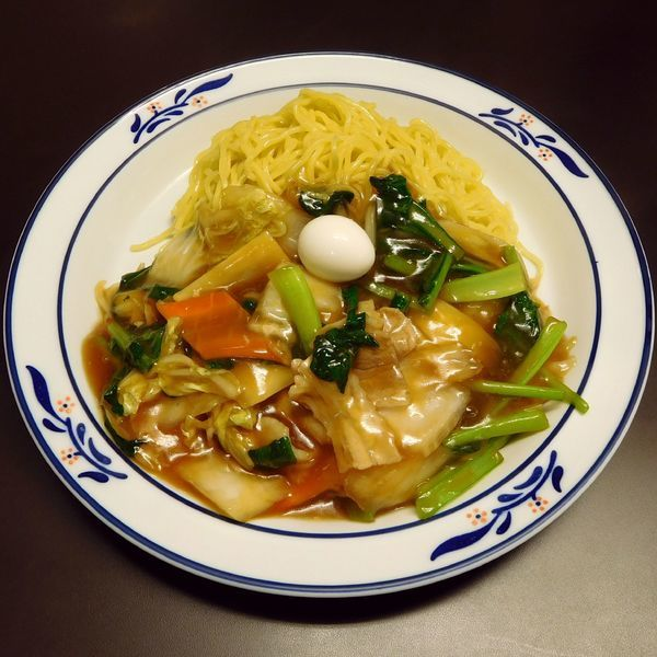 「冷しあんかけソバ(700円)」@中国料理 桂林の写真