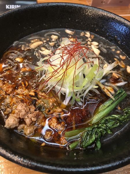 「玄瑛流黒胡麻NUTS担々麺」@麺劇場 玄瑛の写真