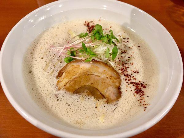 「鶏コクらーめん」@麺屋ガテン 天満橋店の写真