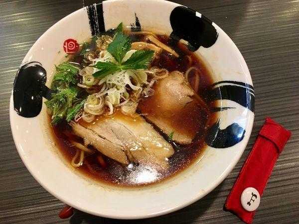 「サンマの濃口醤油ラーメン」@茨木きんせいの写真