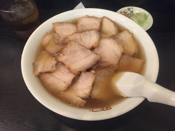 「チャーシュー麺」@喜多方ラーメン 坂内 調布店の写真