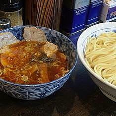 「辛味チャーシューつけ麺(大盛) 1030円」@町田 大勝軒の写真