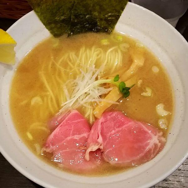 「【新メニュー】鯛ラーメン 880円」@拉麺 ほそやの写真