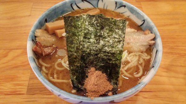 「らーめん並」@自家製麺 然の写真