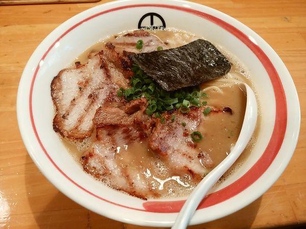 「鶏醤油チャーシューラーメン」@らーめん 田の写真