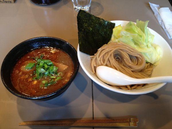 「海老つけ麺」@つけ麺 五ノ神製作所の写真