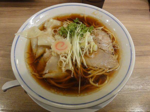 「ワンタンメン」@麺や マルショウ 塚口店の写真