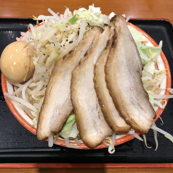 「特製フジヤマ(¥1,000)」@麺屋 心 イオンモール幕張新都心店の写真