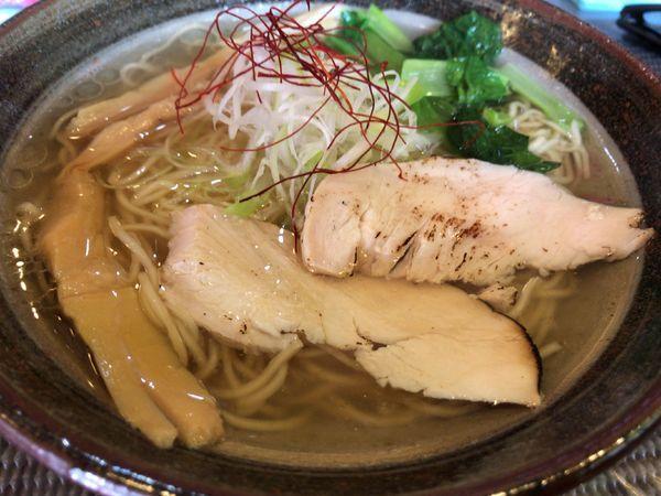 「ホタテだし潮らーめん750円」@創作麺処 麺soulの写真