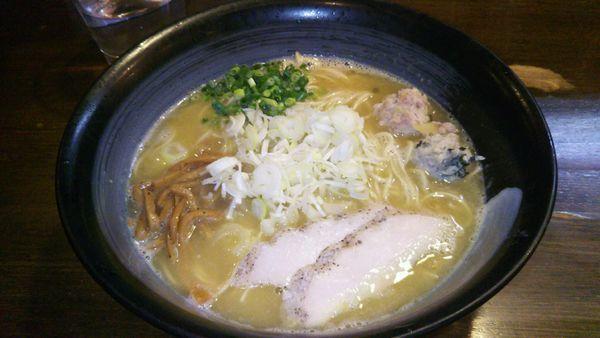 「純鶏白湯(塩) 750円」@鶏々 TORIDORIの写真