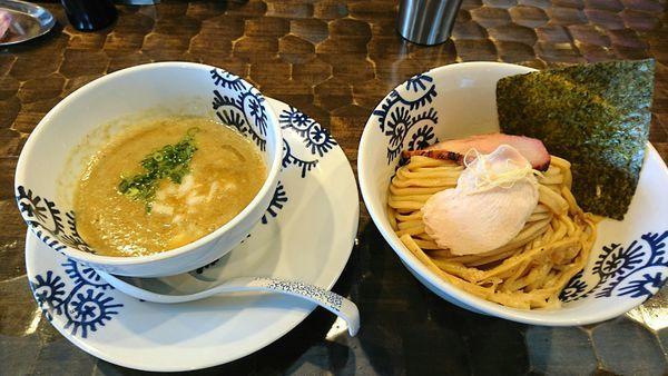 「5周年コラボ限定  つけそば、かき氷 ほか」@特級鶏蕎麦 龍介の写真