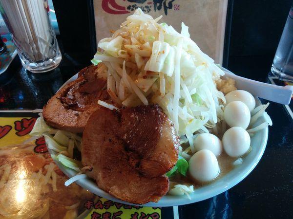 「ガッカリ1号 野菜、うずら 750円」@若旦那の写真