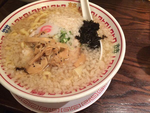 「ワハハ煮干し中華そば」@串あげ ムタヒロの写真