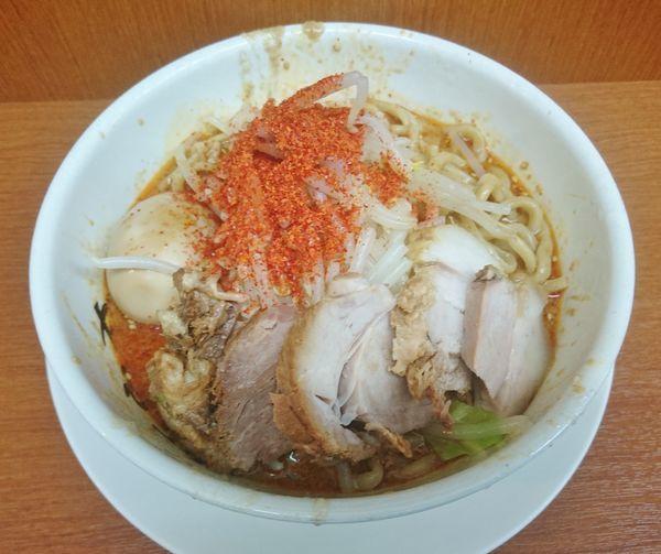 「冷やしタンタン麺+味玉   850円」@麺や 希 御徒町店の写真