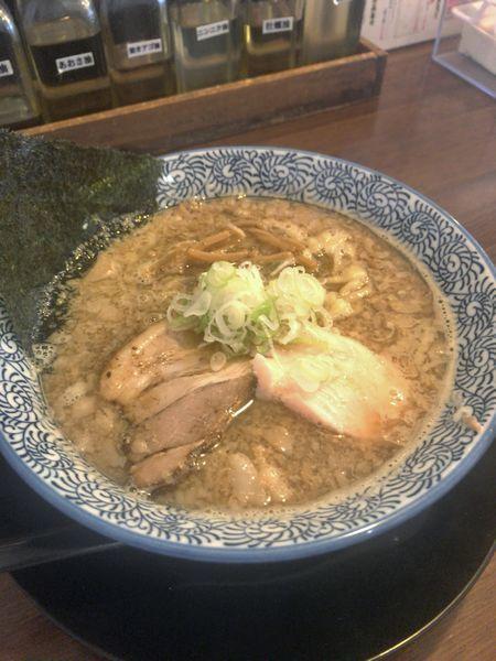 「83背脂煮干しラーメン¥730」@千葉房総 麺のマルタイの写真