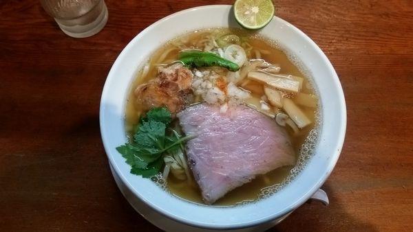 「煮干しラーメン」@麺や 松辰の写真