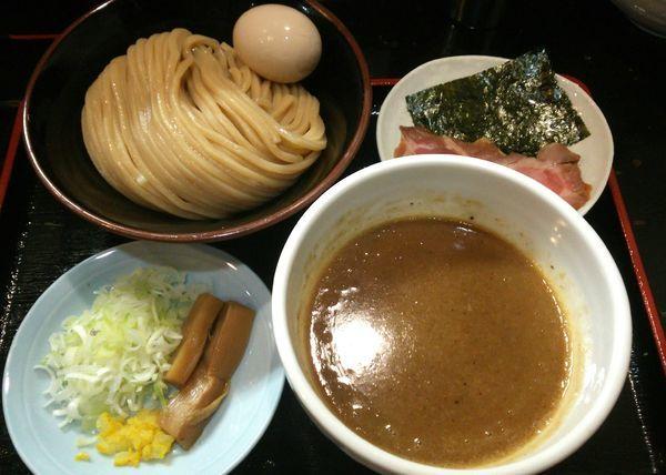 「つけ麺+味玉 780円+0円(ラーメンWalkerクーポン)」@濃厚宗田つけめん 麺屋縁道の写真
