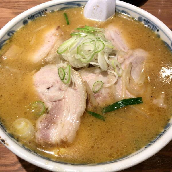 「みそチャーシュー 1,050円」@手打ちらーめん 麺之介の写真