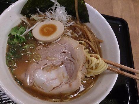 「【秋限定】特濃煮干らーめん」@麺や かずの写真