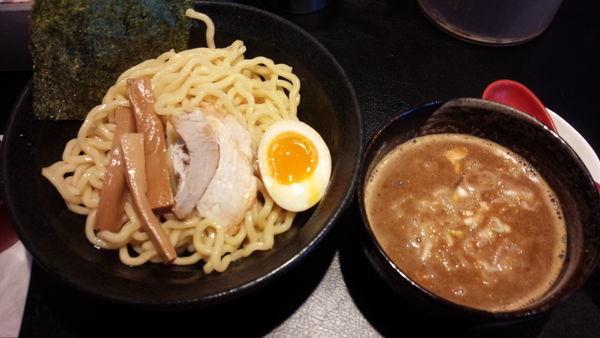 「魚介系つけ麺(普通盛り850円)」@横浜らーめん 源泉 海老名店の写真