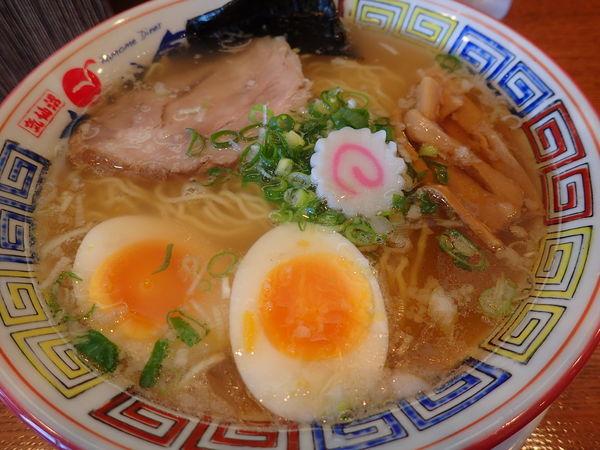 「かもめラーメン味玉のせ・潮味」@気仙沼かもめ食堂の写真