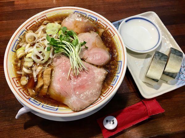 「サバサバセット」@サバ6製麺所 京橋店の写真