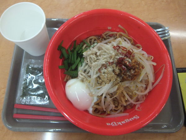 「台湾まぜそば430円」@スガキヤ 大仁アピタ店の写真