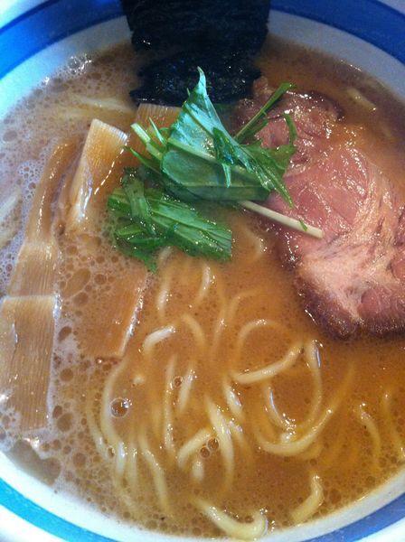 「らー麺」@九段 斑鳩の写真