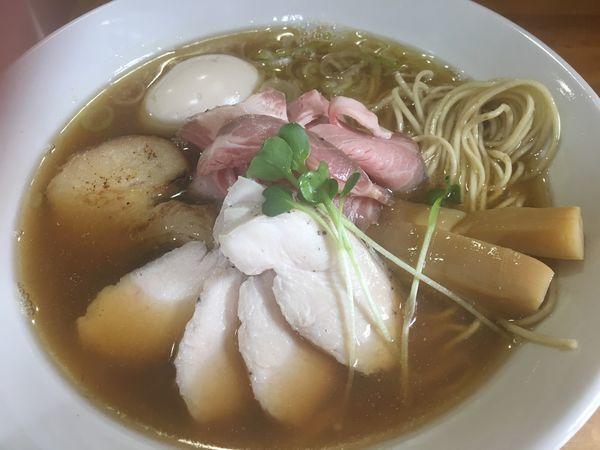 「特製中華そば1030円」@麺屋 むじゃきの写真