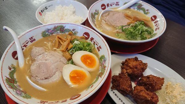 「こってり+味玉」@天下一品 東川口店の写真