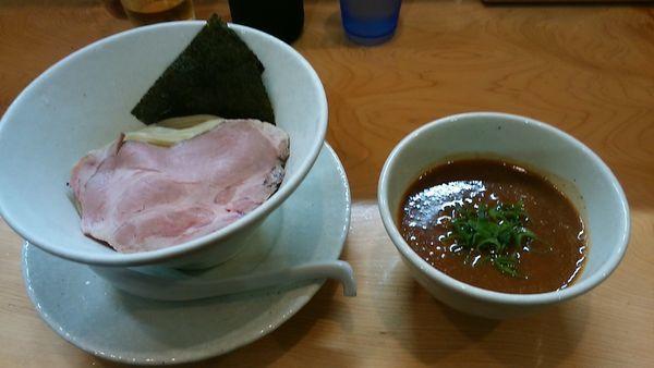 「濃厚海老つけ麺」@麺屋BISQの写真