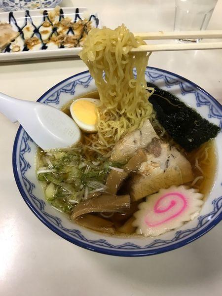 「千秋麺 ハーフ 450円」@そば処 紀文の写真