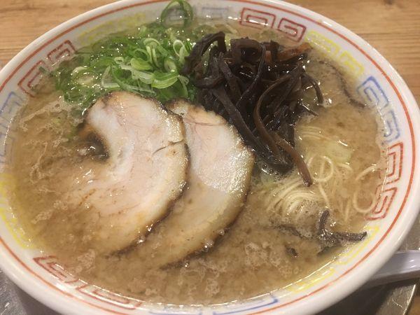 「ラーメン700円」@博多だるまの写真
