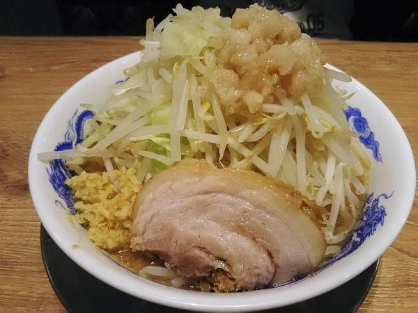 「ラーメン全増し(生姜)680円」@ジャンクガレッジ 狭山店の写真