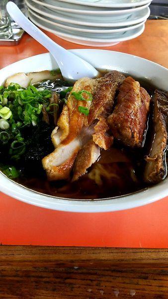 「チャーシュー麺」@味の大西 本店の写真