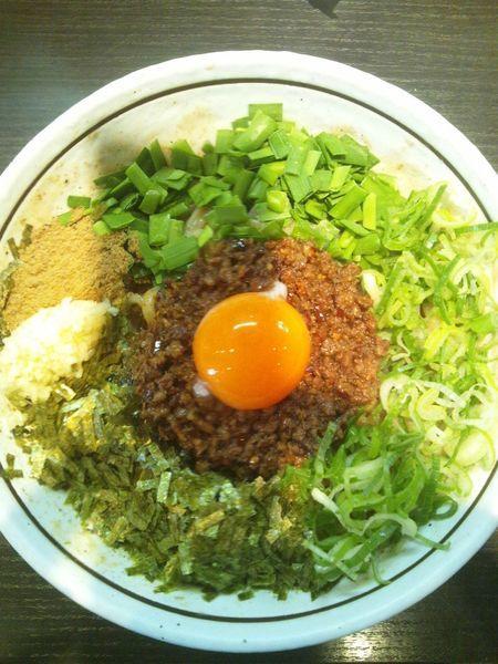 「元祖台湾まぜそば」@濃厚担々麺 はなび 蟹江店の写真