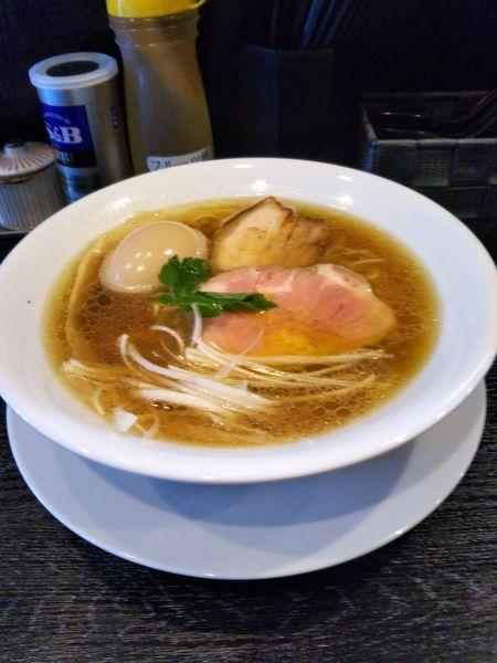 「味玉醤油ラーメン」@麺屋 中川會 住吉店の写真