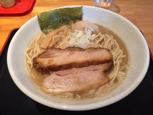 「特製鶏煮干しラーメン大盛り麺硬め」@麺家 一鶴の写真