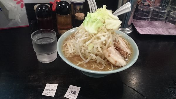 「大麺・大盛(ニンニク無し)¥950」@らぁめん大山 アトレ川崎店の写真