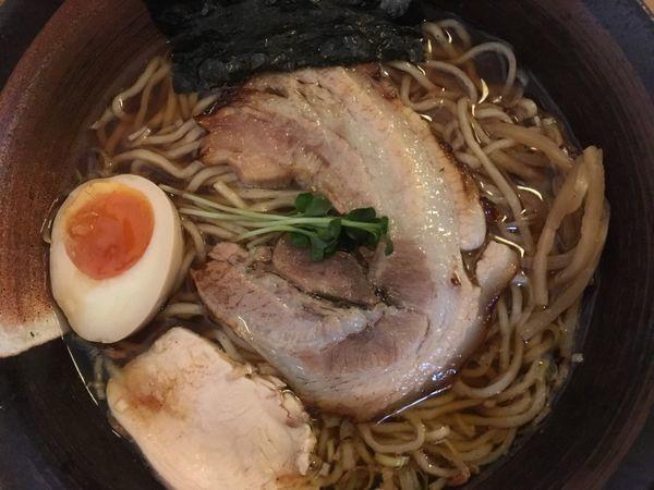 「凪らーめん醤油 700円」@和風らーめん 凪の写真