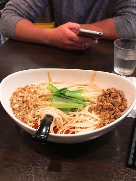 「汁なし坦々麺」@中国家庭料理 楊 十条店の写真
