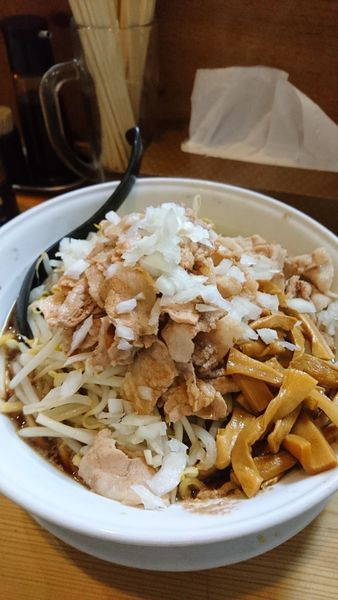 「肉ソバ」@J郎麺の写真
