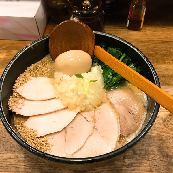 「鶏白湯ラーメン」@麺屋時茂の写真