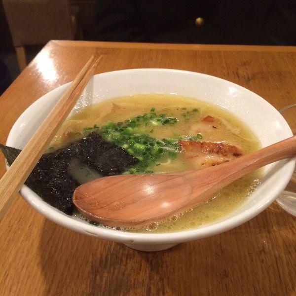 「ラーメンポテリ」@鶏ポタラーメン THANK 大門店の写真
