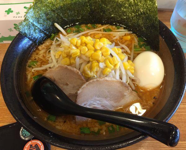 「特製みそらーめん・コッテリ(¥800)」@麺酒坊 林の写真