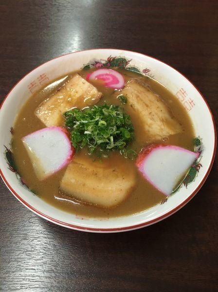 「チャーシューメン」@山為食堂の写真