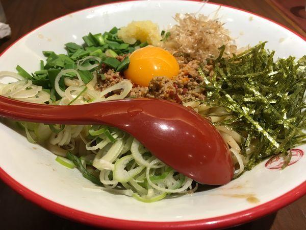 「台湾まぜそば?」@つけ麺専門店 三田製麺所 五反田店の写真