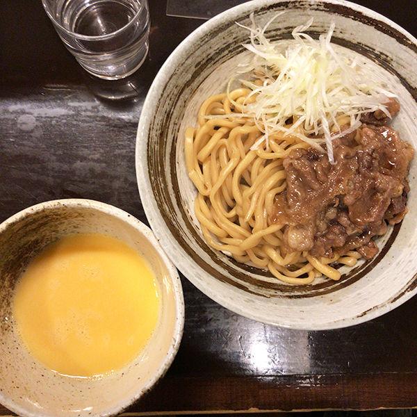 「【限定】新麦スキヤキつけ麺」@づゅる麺 池田の写真