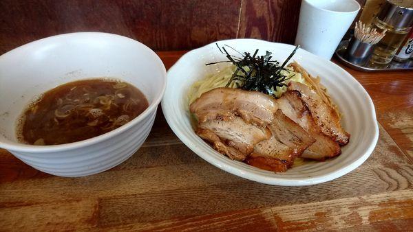 「醤油バラつけ麺」@麺や 八雲の写真