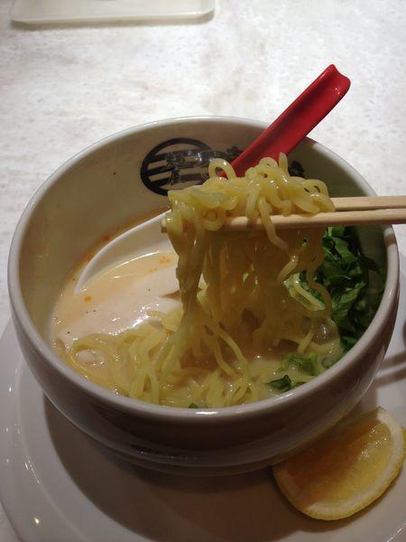 「鶏白湯 塩」@麺屋 時茂 高崎店の写真
